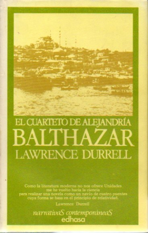 Narrativa contemporánea: Lawrence Durrell